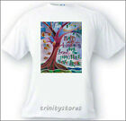 Adult T-shirt - Religious Art - Happy Are Hearts That Bend by M. McGrath, OSFS