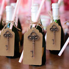 Внешний вид - 50× Key Bottle Openers Wedding Favors Skeleton Party Drink Opener With Card Tag