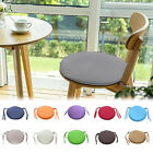 1x Round Garden Chair Pad Indoor Outdoor  Stool Patio Dining Home Seat Pad