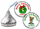 108 CHRISTMAS PARTY FAVORS HERSHEY KISS KISSES LABELS