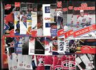 MONTREAL CANADIENS MOLSON POCKET SCHEDULE AND DISPLAY RACK NHL HOCKEY SEE LIST $1.00 CAD on eBay