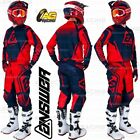 Answer Racing 2019 Syncron Drift Bright Red Midnight Black Jersey Pant Combo Kit