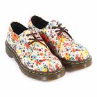 Dr Martens Women's 1461 Wanderlust Fine Canvas Lace Up Shoe Taupe