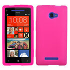 For HTC Windows 8X Silicone Skin Rubber Soft Case Phone Cover
