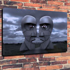 Pink Floyd Division Bell Sculpture Printed Box Canvas Picture Multiple Sizes