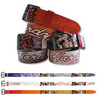 Ed Hardy EH3206 Skull-Rose Kids-Girls Leather Belt