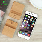 Floveme Solid Wood Cell Phone Desk Stand Holder For Mobile Phone Tablets