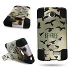 For LG Tribute / Transpyre / Optimus F60 - Protective Hybrid Phone Cover Case