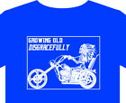 T shirt motorcycle Biker, Indian Custom Classic, Vintage, badge, American