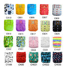 Kyпить ALVA Cloth Diapers Double Gussets Colored Snaps Reusbale Pocket Nappies + Insert на еВаy.соm