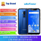 Ulefone Armor 5 Mobile Phone Android 8.1 5.85'' 4GB+64GB 16MP Dual Cams Face ID <br/> Free Shipping&5000mAh&Fingerprint Unlock&black discount