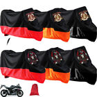 US XXL/XXXL Waterproof  Motorcycle Cover For Harley Touring Electra Street Glide