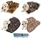 Ultra Paws My Blankie Dog Deluxe Blanket Bed Pet Gear Plush Warm Sherpa