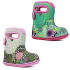 Bogs Wellington Boots Baby Reef Waterproof Insulated Fur Lined -10c Girls 72297
