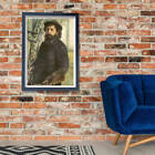 Pierre Auguste Renoir - Self Portrait Wall Art Poster Print