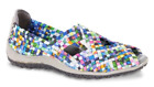 Zee Alexis Sarah Turquoise Multi Woven Mary Jane Sandal Women's sizes 6-11/NEW