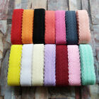 Hot 10Yards 28MM Width Lace Ribbon DIY Decorative Lace Trim Clothing Accessories