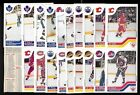 1983-84 VACHON NHL HOCKEY CARD PANEL SINGLE CHECKLIST SEE LIST $3.00 CAD on eBay