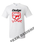 NEW VINTAGE DODGE VIPER T SHIRT PRINTED ON GILDAN ALL SIZES $18.99 USD on eBay