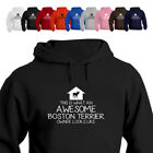 This is What An Awesome Boston Terrier Dog Owner Looks Like Hoodie Gift 881