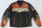 Harley Davidson Men's SCREAMING EAGLE Leather Jacket VICTORY LAP 98280-07VM XL $575.0 USD on eBay