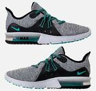 NIKE AIR MAX SEQUENT 3 MEN's RUNNING WHITE - HYPER JADE - BLACK AUTHENTIC US SZ