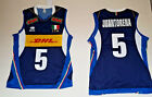 ERREA FIPAV DHL SHIRT AUTHENTIC 5 JUANTORENA ITALY JERSEY ITALY VOLLEYBALL /25