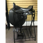 SPT49610416312-1 Tucker Custom Equitation Endurance Trail Saddle Black 16.5 Inch