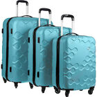 Kamiliant Harrana 3 Piece Hardside Spinner Luggage Set