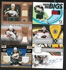 MINNESOTA WILD AUTOGRAPH JERSEY & STICK NHL HOCKEY CARD SEE LIST $5.0 CAD on eBay