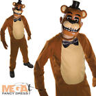 Freddy Five Nights at Freddy's Boys Fancy Dress Kids Halloween Costume Outfit