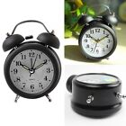 Multi Alarm Clock Twin Metal Bell Mute Silent with Nightlight Super Loud