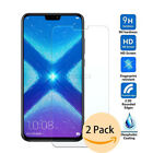 Case Friendly For Huawei Honor 8X 2Pcs Real Tempered Glass Film Screen Protector