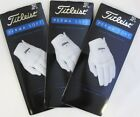 Three (3) New 2018 TITLEIST PERMA SOFT Golf Gloves, PICK A SIZE