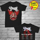 Ghost band shirt 'Rats! on the Road' 2018 Tour Dates 2 side T-shirt all size Men image