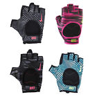 Nike Womens Fit Training Gloves Gym Workout Fitness Cushioned Fingerless Padded