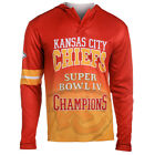 Kansas City Chiefs Super Bowl IV Champions Poly Hoody Tee on eBay