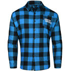 Carolina Panthers NFL Checkered Men's Long Sleeve Flannel Shirt on eBay