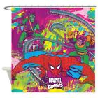 CafePress Spiderman Jungle Shower Curtain (1282862258)