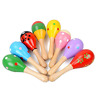 More images of Veewon 6pcs Wooden Wood Maraca Rattles Shaker Percussion Kids Baby Musical Toy F