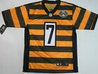 New Ben Roethlisberger #7 Pittsburgh Steelers Mens Throwback Bumble Bee Jersey