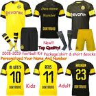 19 Football Shirts Club Soccer Kids Adult Kit Short Sleeve Jersey Outfits Suit image