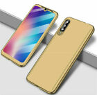 360° Full Cover Case + Tempered Glass For Xiaomi Mi 9T 9 A1 A2 Lite Pocophone F1