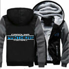 New Carolina Panthers Football Men Fleece Hoodie Coat Thicken Jacket Sweatshirt on eBay