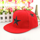 Kids Baby Boys Baseball Hats Cap Cartoon Hip Hop Toddler Snapback Peaked Sun Hat