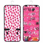 Fashionable Practical Jewelry Hanging Travel Organizer Roll Bag