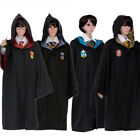 Harry Potter Outfits Cosplay Cloak Robe Hogwarts Uniform Adult Child Gifts