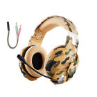 Stereo PC Gaming Headset Surround Bass Over Ear Headphones f/ PS,Xbox One,Laptop