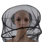Outdoor Mosquito Resistance Bug Insect Bee Net Mesh Head Face Protector Hat -Y