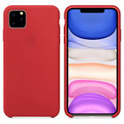 Case For iPhone 11 Pro Max 8 Plus 7 Plus XS Max XR Luxury Silicone Genuine Cover